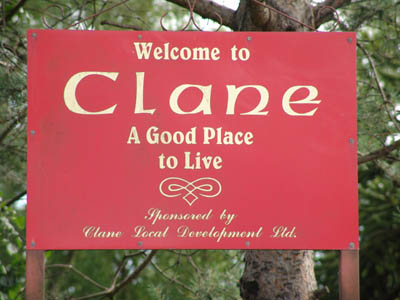 Clane Sign