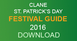 Clane St. Patrick's Day Festival Guide 2016 - Download PDF 1mb