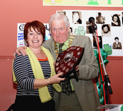 Bobbs Hairdressers, Clane, Winners of the Shop Window Display