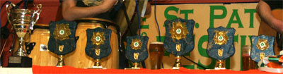 Trophies sponsored by Clane Project Centre