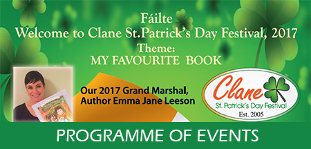 Clane Festival 2017 Programme of Events