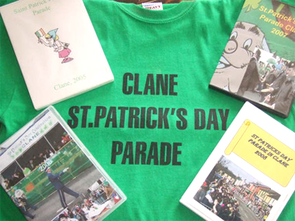 Clane St. Patrick's Day Parade T-Shirt