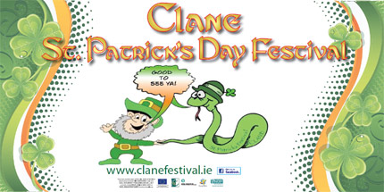 Clane St. Patrick's Day 2012 Festival Banner