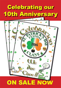"Clane Book - ""A CELEBRATION - WE ARE CLANE"" celebrating our 10th Anniversary"