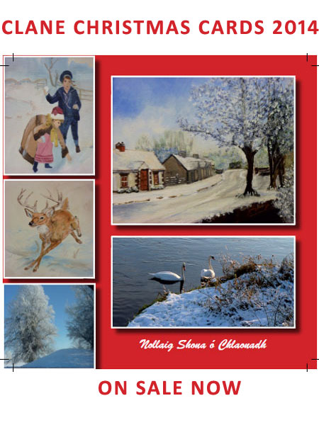Clane Festival - Christmas Cards 2014 Now Available