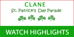 Watch the Clane St. Patrick's Day Parade Highlights on the web now