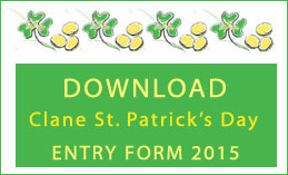Download Clane St. Patrick's Day Entry Form 2015