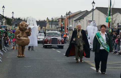 Grand Marshall 2015 St Patrick's Day Parade Clane - Jenny Casey