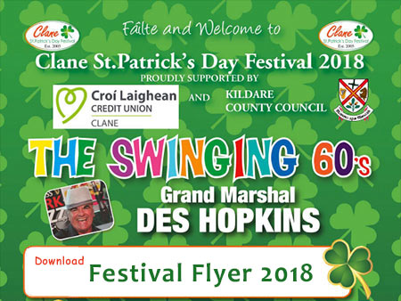 View Clane Festival 2018 Flyer Information