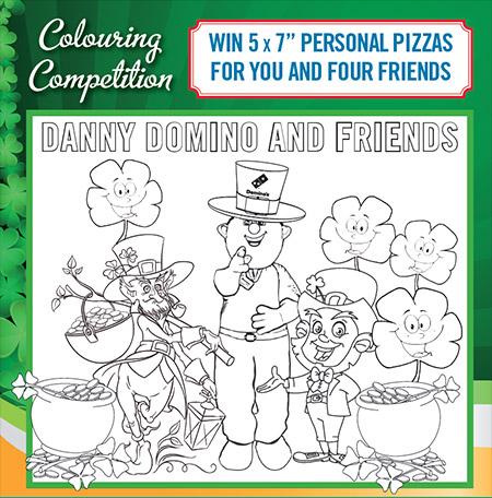 Colouring Competition Clane Festival Danny Domino 2018