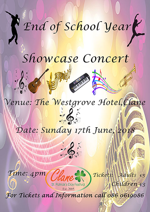 Clane Festival - End of School Year Showcase Concert 2018