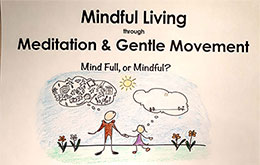 Mindful Living through Meditation and Gentle Movement 2019