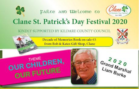 Clane Festival 2020 Flyer